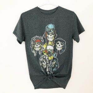 Retro Oversized Guns N' Roses Graphic Band T-shirt